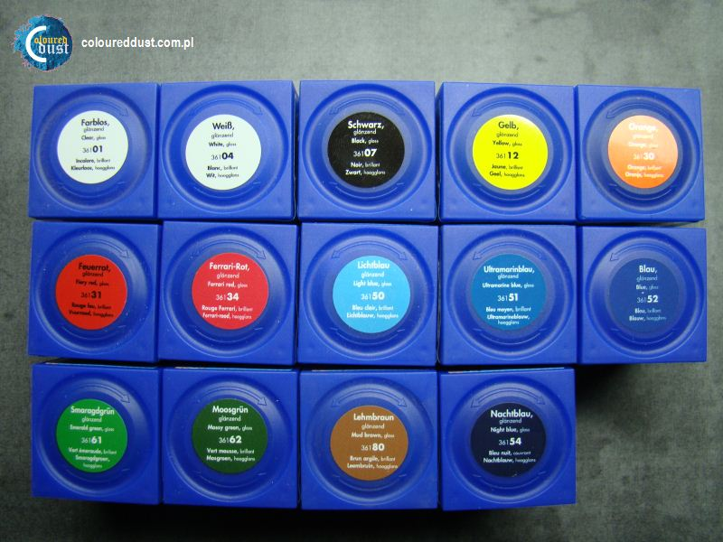 solid gloss 14colors - Revell Night Color