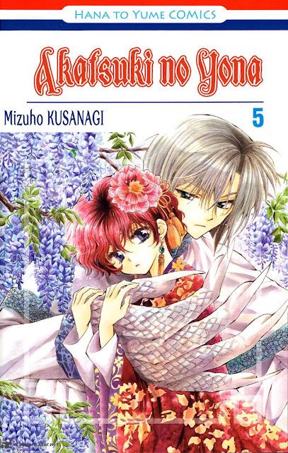 Mangá Shoujo Akatsuki no Yona 5