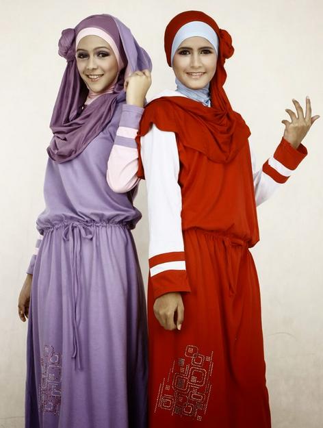 Tampil Cantik Dengan Busana Muslim Modern Terbaru Remaja