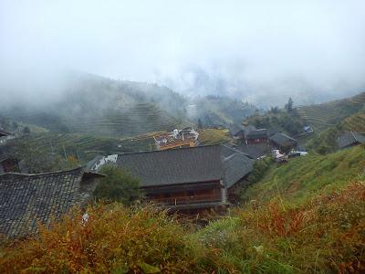 rizières en terrasse à Longji