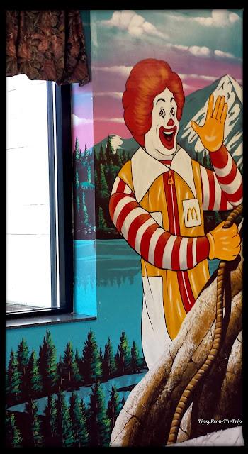Ronald McDonald - Mt-Hood-mural