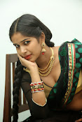 Myna hot half saree photos-thumbnail-2