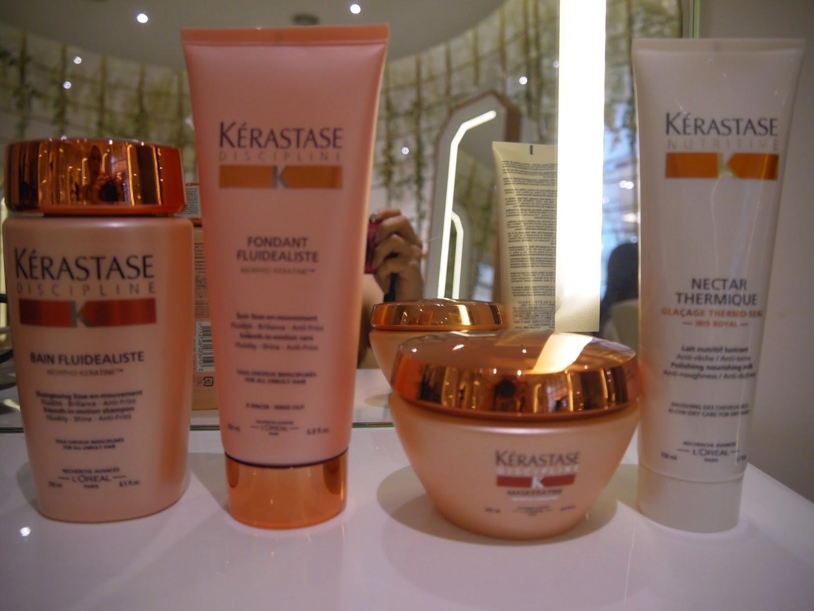 Evergreen love kerastase discipline hair treatment review - Kerastase salon treatment ...