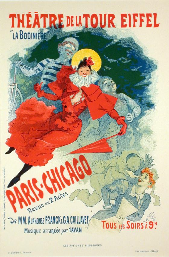 Jules Chéret poster