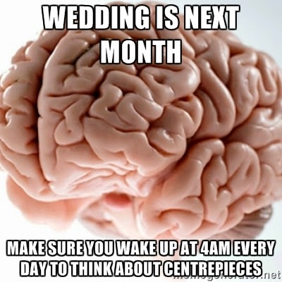 Wedding brain meme