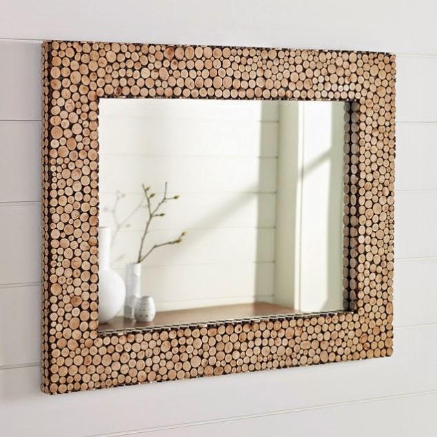 Proyectos diy para marcos de espejo quiero m s dise o for Marcos plateados para espejos
