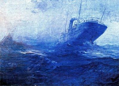 Vaixell en alta mar (José Salís Camino)