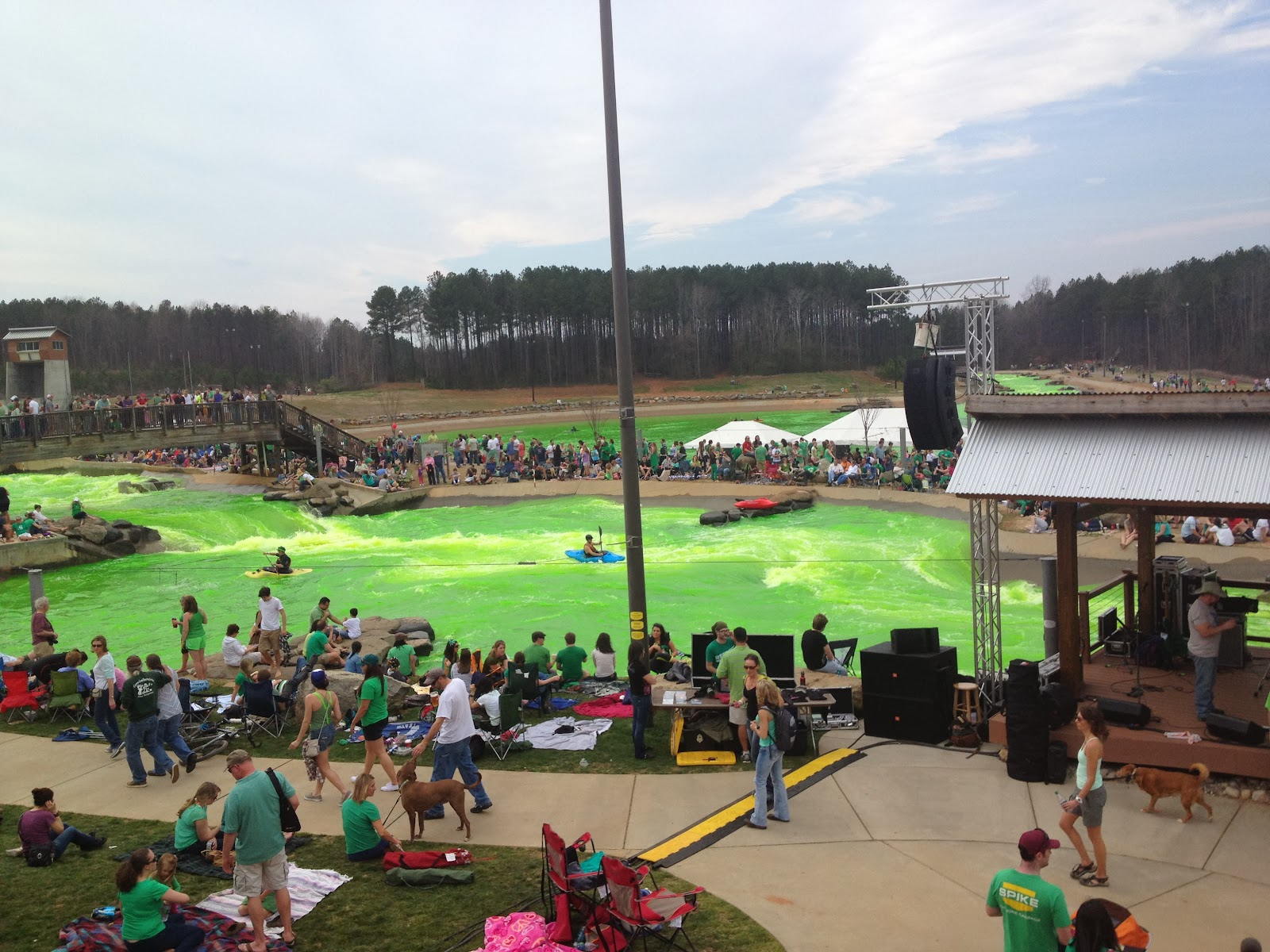 US National Whitewater Center in Charlotte, NC