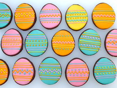 Easter Egg Cookies by Nina's Show & Tell