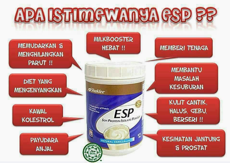 banyak khasiat ESP