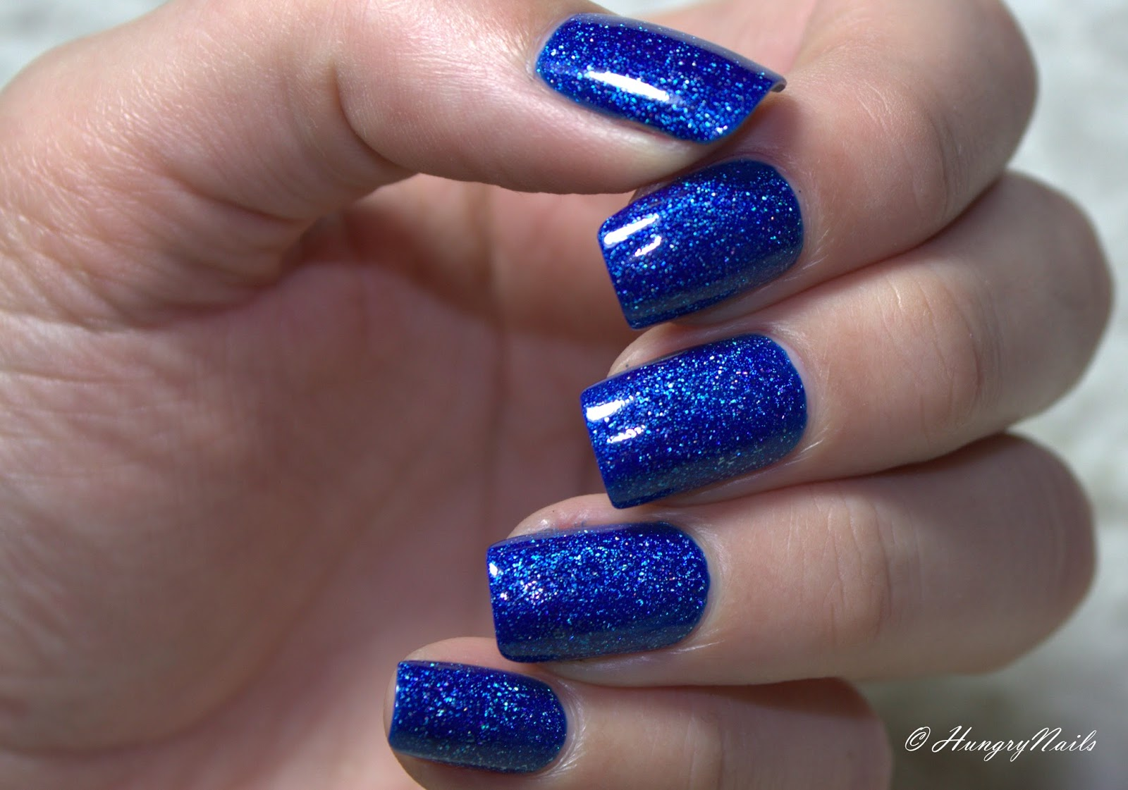 Blue Friday mit El Corazón Active- Bio-gel Color gel polish 423/502 Large Hologram Ocean