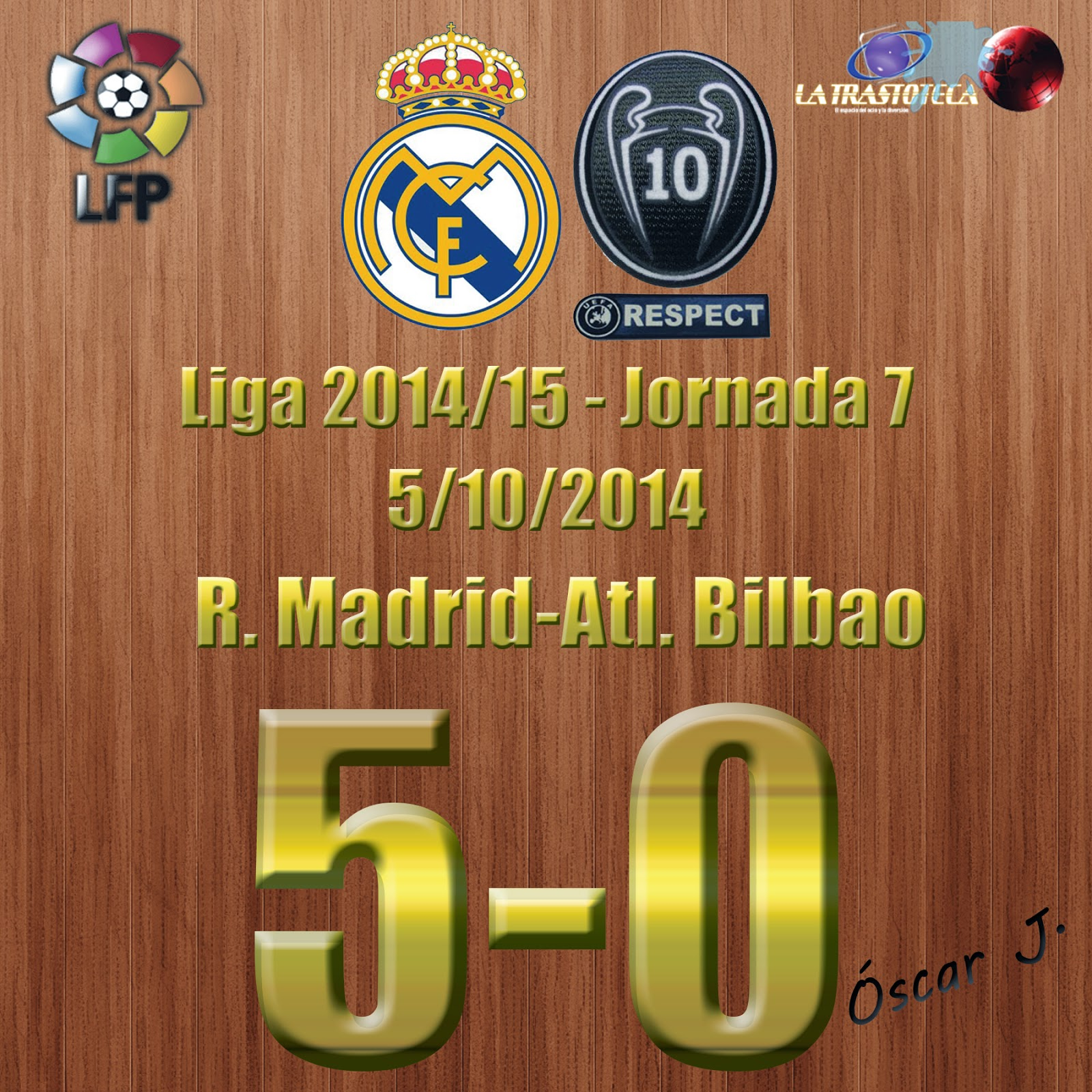 Real Madrid 5-0 Atletic Bilbao