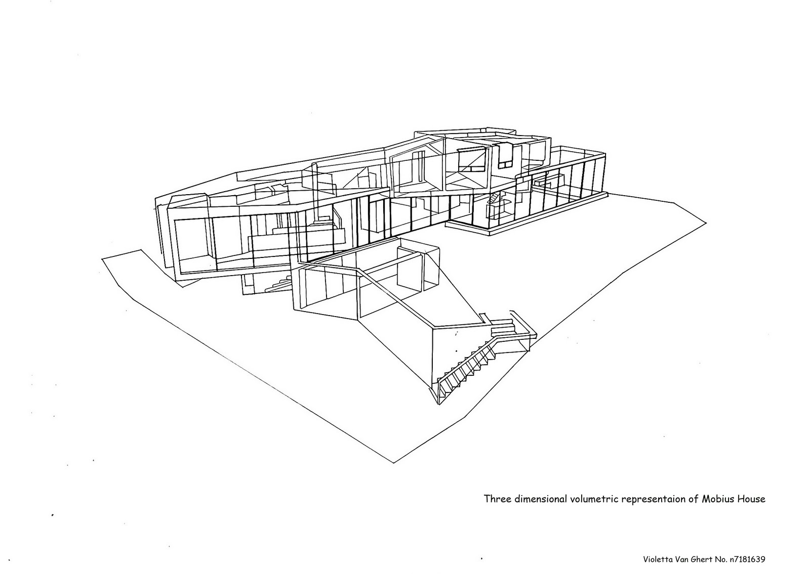 Project 1 part b analysis architectural apprenticeship for Three dimensional house plans