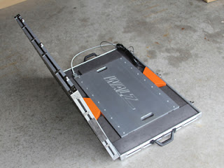 In-motion Axle Scale Case