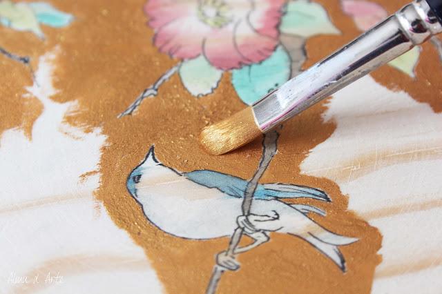 Cómo pintar sobre tabla de madera