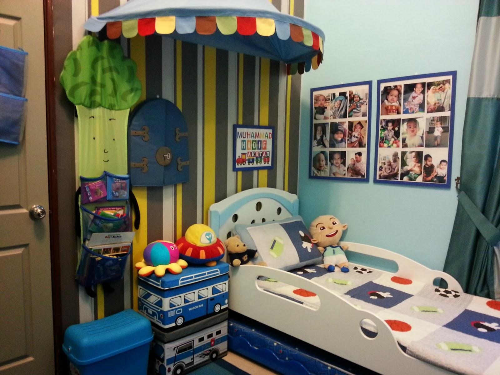 X presi by kemn azmaili deko rias transformasi bilik tidur anak - Deco boy ...