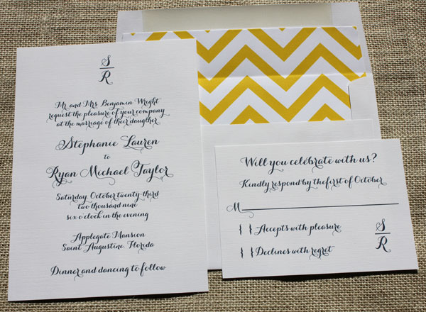 New Patterned Wedding Invitation Envelope Liners