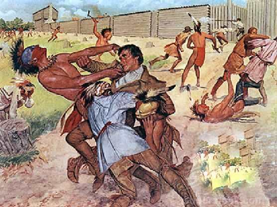 the fight of native americans