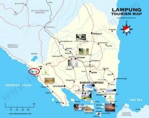 Untuk menuju ke Pantai Tanjung Setia ini MAP  Ojek Wisata Tanjung Setia Beach