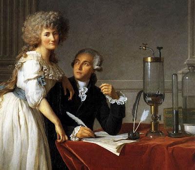Antoine Lavoisier, Marie-Anne Lavoisier, Jacque-Louis David, peinture, portait, XVIIIe siècle