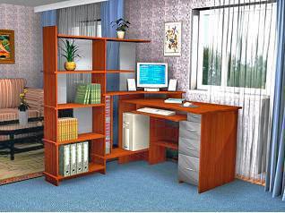 Фото компьютерного стола