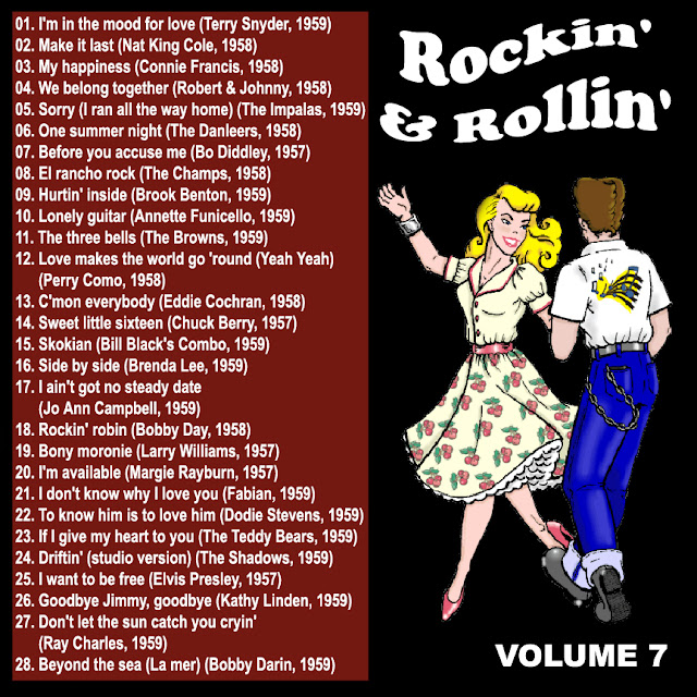Cd collection Back To The 50's - Rockin' & Rollin' 7 Back%2B07