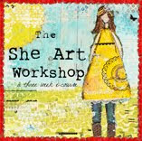 Having fun at the She Art Workshop