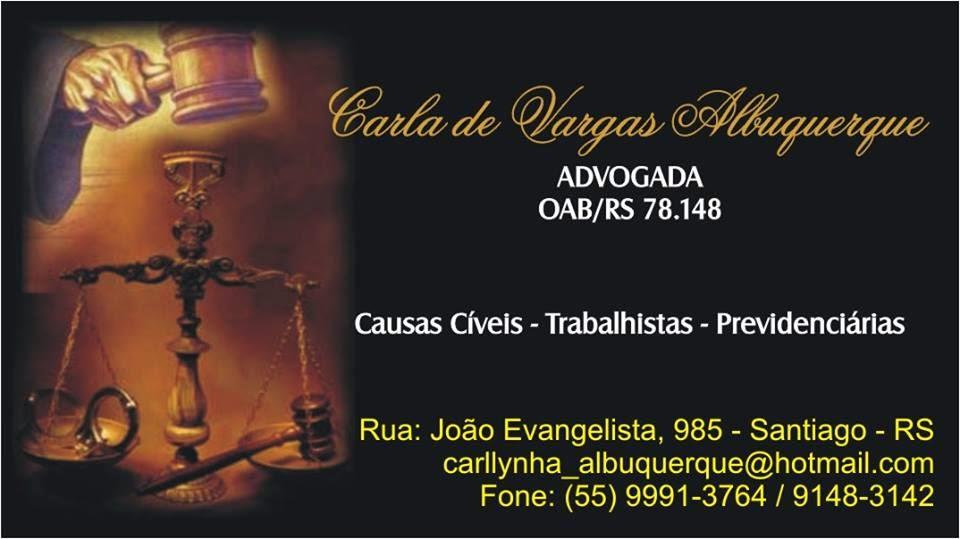 ADVOGADA CARLA ALBUQUERQUE