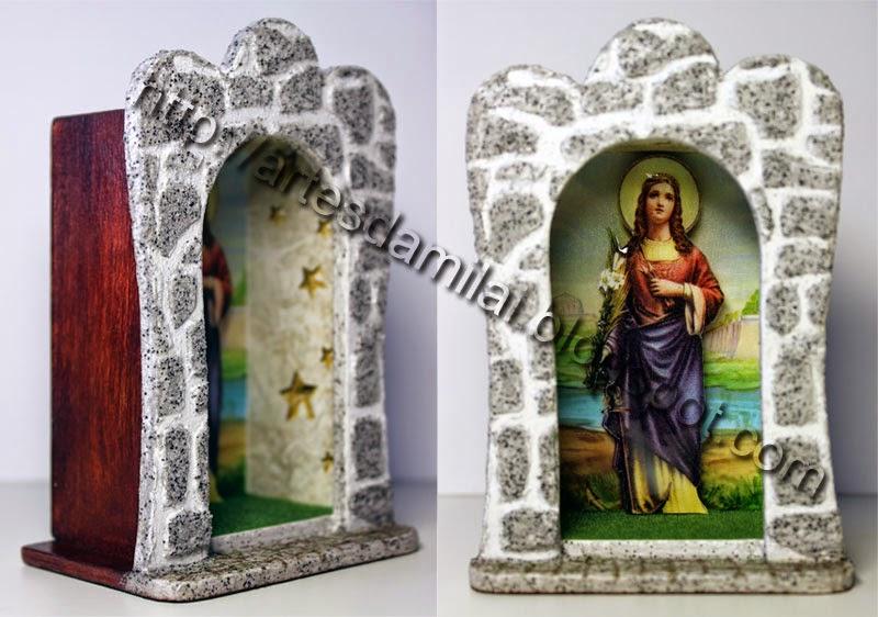 Santa Filomena - mini oratório