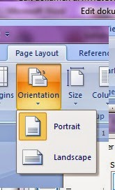 Tab page layout microsoft word 2010