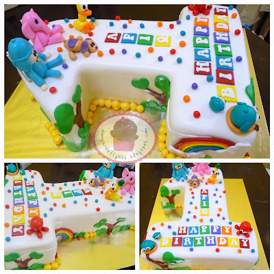 Pocoyo & Friends Cake