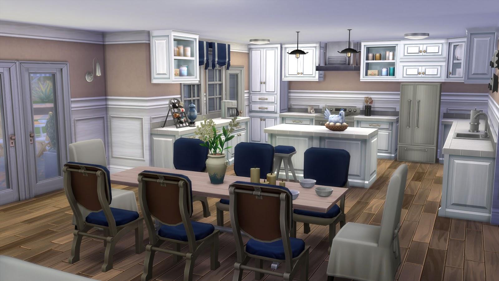 #73604A BeAzSims: Como criar uma cozinha espantosa em The Sims 4 1600x900 px Banco Para Cozinha Americana Ponto Frio_2571 Imagens