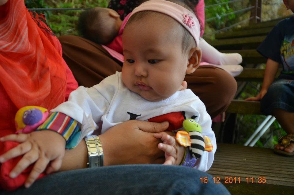 zafirah breastfeeding