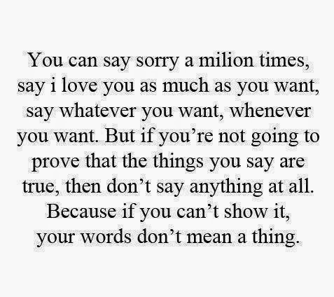 Sorry a million of times