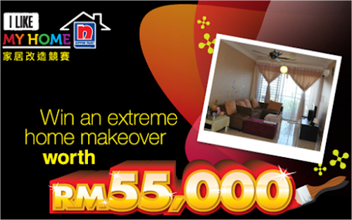 Nippon Paint 'I Like My Home' Makeover Contest
