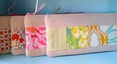 bright fabric pencil case tutorial