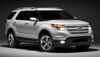 how to change ford explorer 2015 tire