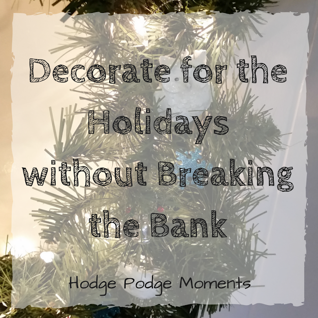 Decorate for the Holidays without Breaking the Bank