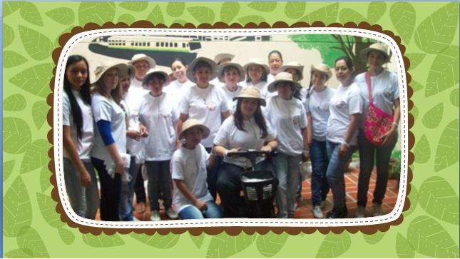 Asociaci n conexi n mujeres con futuro proyecto de for Proyecto de jardineria