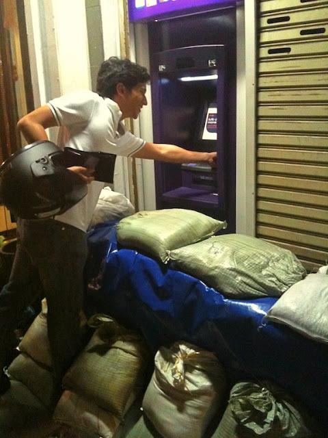 Inondations à Bangkok