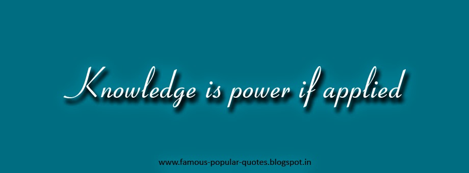 Inspirational Quotes Knowledge