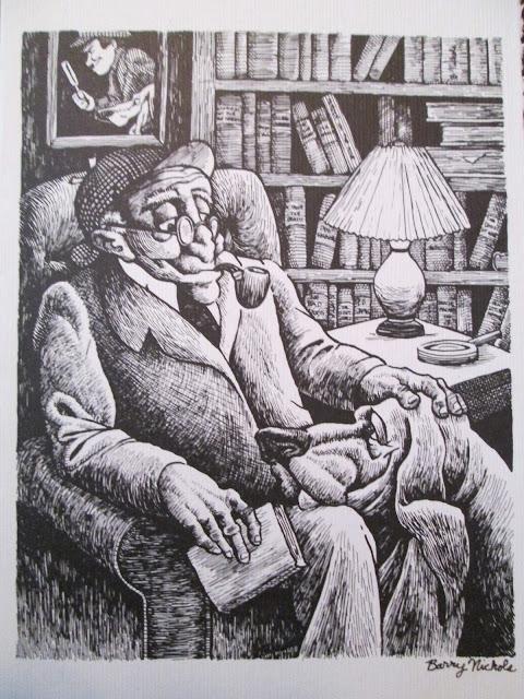 Old Sherlock Holmes by Barry Nichols