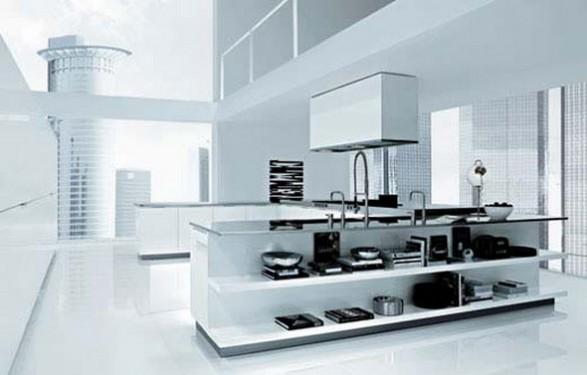 C mo dise ar una cocina moderna de poliform por matrix - Como disenar una cocina moderna ...