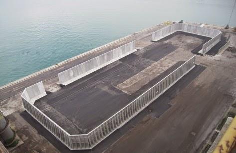 Terminal rinfuse Venezia riferimento per il traffico siderurgico