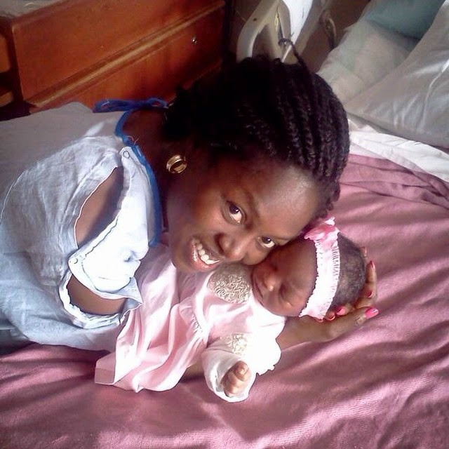 segun arinze baby girl pictures