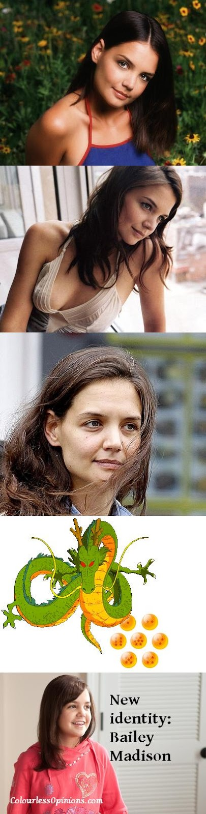 Bailee Madison looks like Katie Holmes