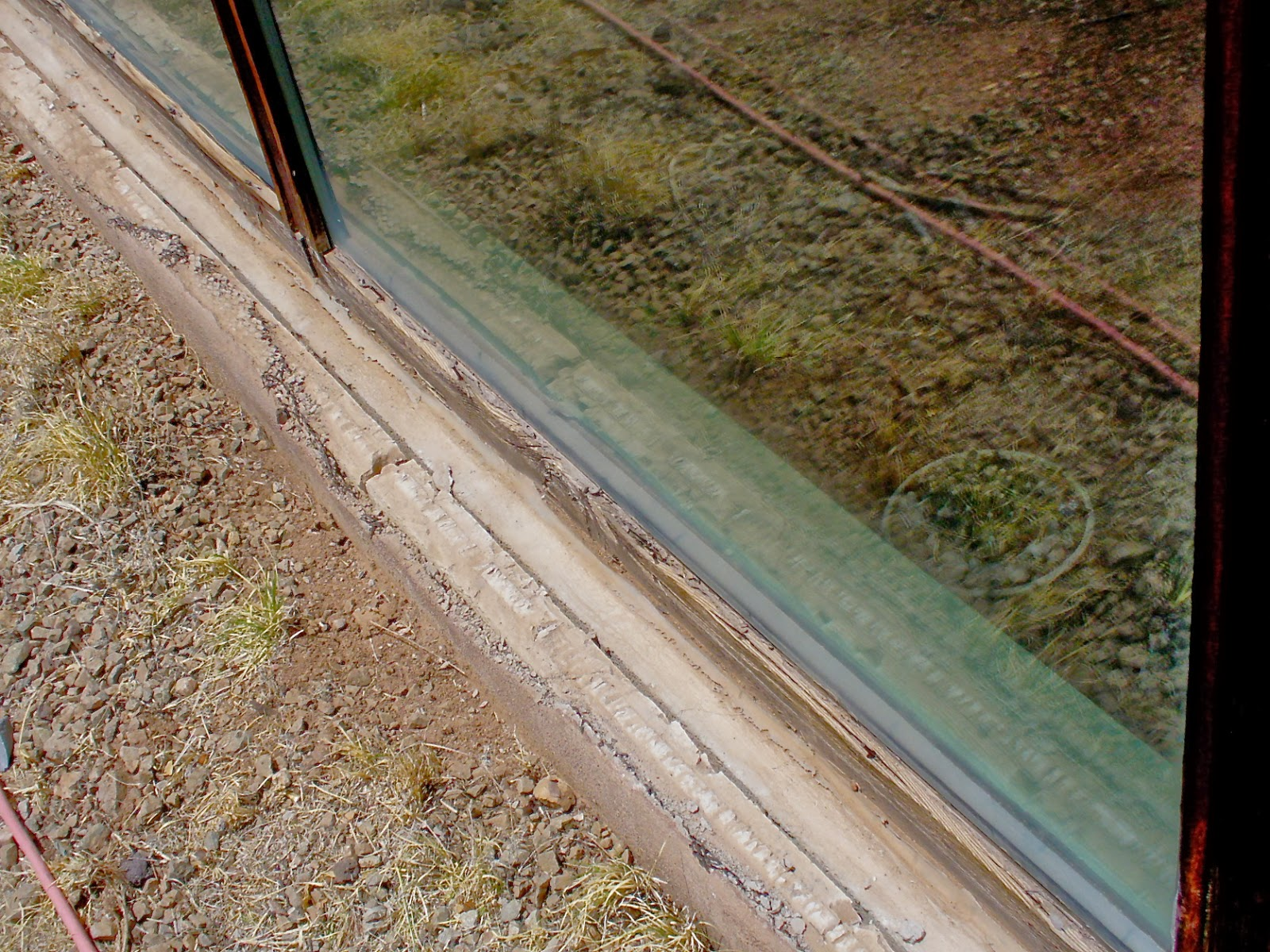 how to stop condensation on concrete block walls above grade