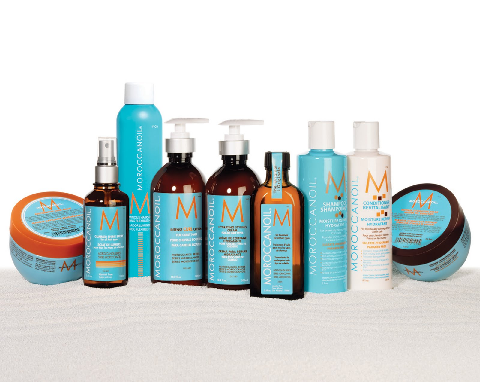 Pinch Of Sunshine Moroccan Oil Secret To Gorgeous Hair