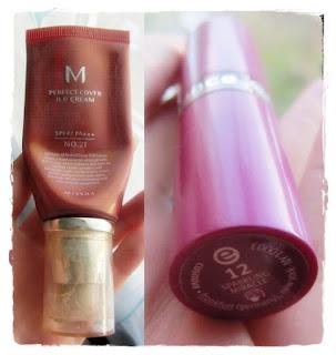 Missha BB Cream, Essence Sparkling Miracle Lippenstift