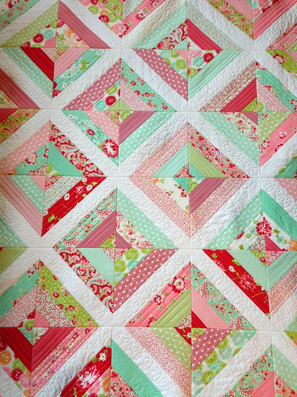 Quilt Patterns Using Strips Of Fabric : Quilt Patterns Using Strips - Bing images